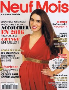 Article magazine Neuf Mois 2015-2016 - Biotiful Les coquillage d'allaitement Baby Shell