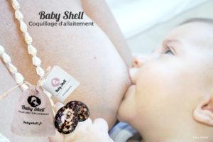 recevez en 48h votre colis contenant une paire de coquillage d'allaitement BABY SHELL, un pochon en lin et une carte avec nos conseils.