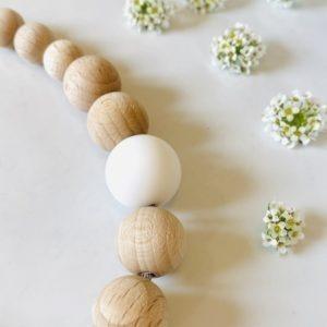 Perle en bois Française