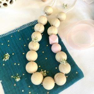 Collier de portage perles libres
