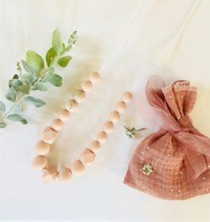 Collier allaitement Baby Shell