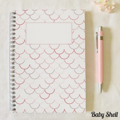 Carnet de notes Baby Shell